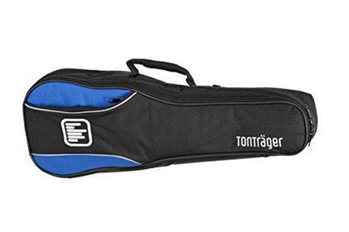 Tonträger TG10UT BB - Blau-Schwarze Tasche für Ukulele (Tenor-Größe)
