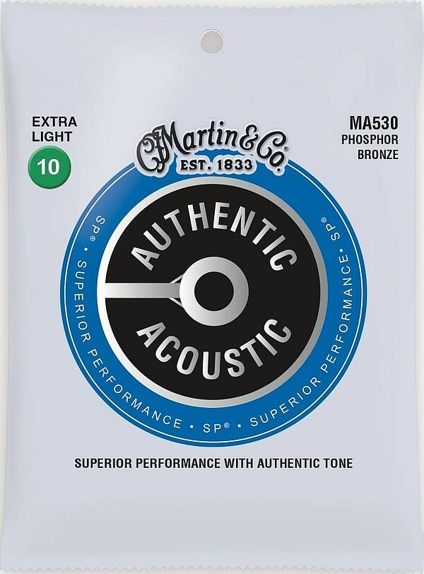 Martin Authentic Acoustic MA530 Extra Light/010-047