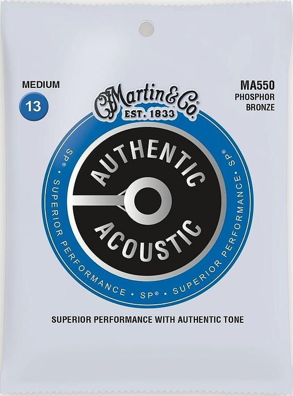 Martin Authentic Acoustic SP® MA550 Medium/013-056
