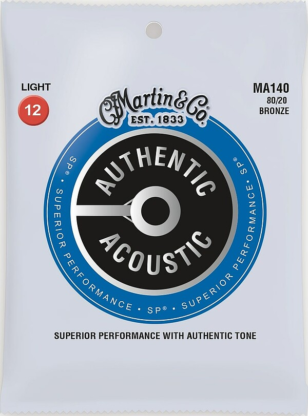 Martin Authentic Acoustic SP® MA140 12-54 light