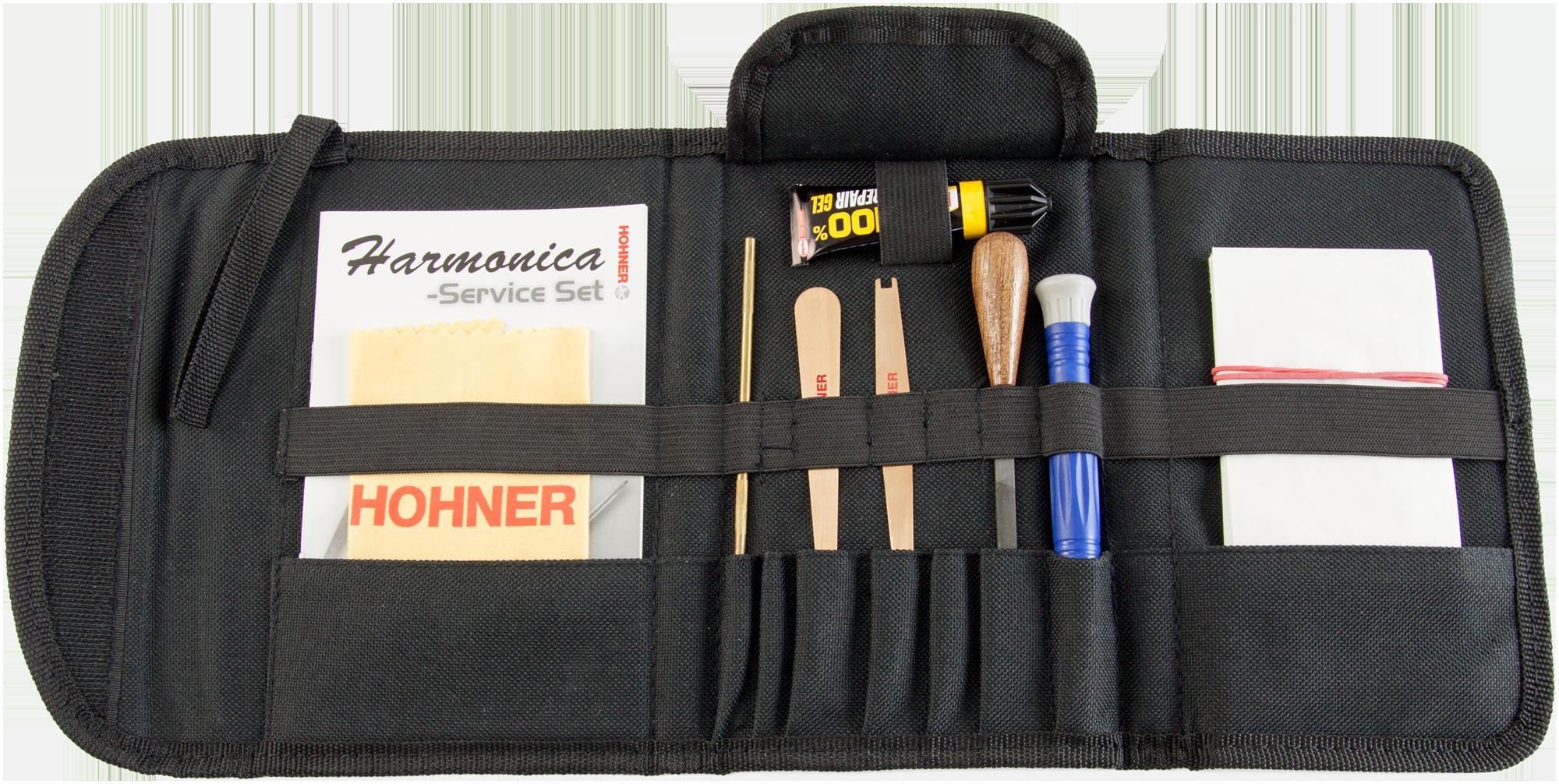 Hohner Service Set für Mundharmonikas - HOMZ9933