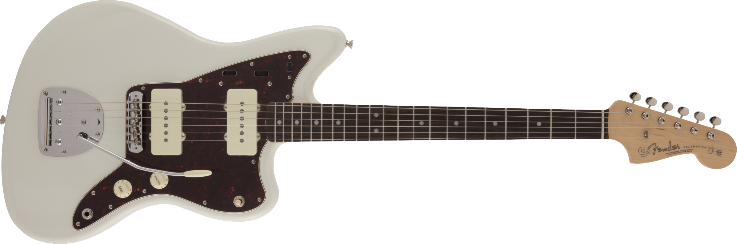 Fender Traditional 60s Jazzmaster, Rosewood Fingerboard, Olympic White