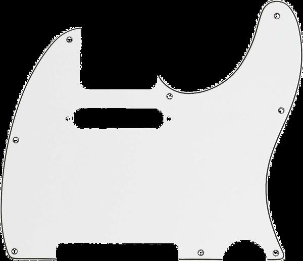Fender Pickguard Telecaster® 8-Hole Mount, Parchment, 3-Ply