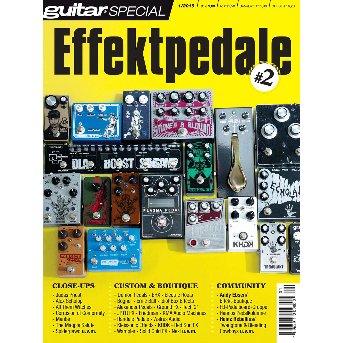 BX Effektpedale 2 - Guitar Special