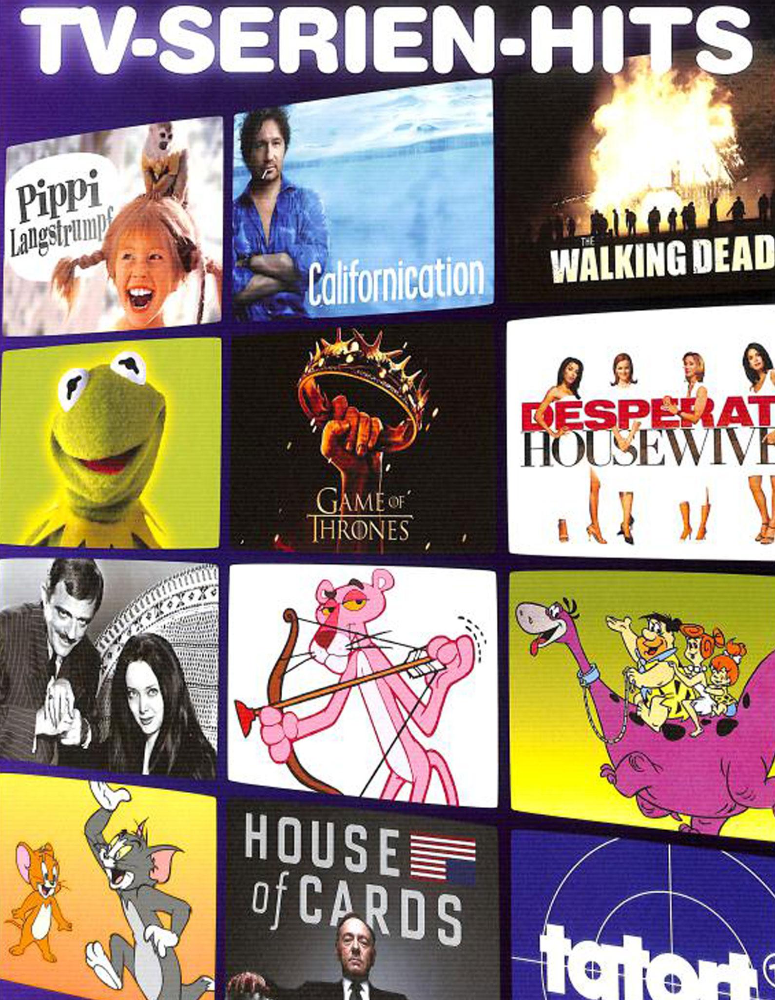 TV-Serien-Hits 50 Titelsongs Und Themen