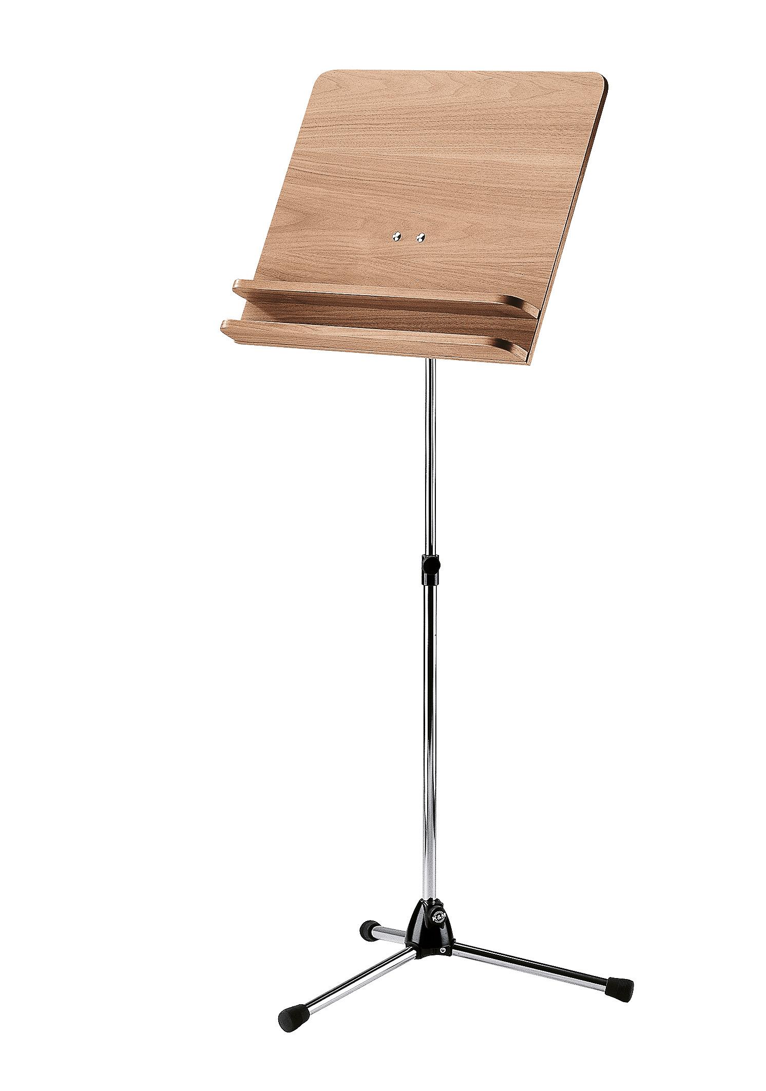 K&M 118/3 Orchesternotenpult - Nussbaum