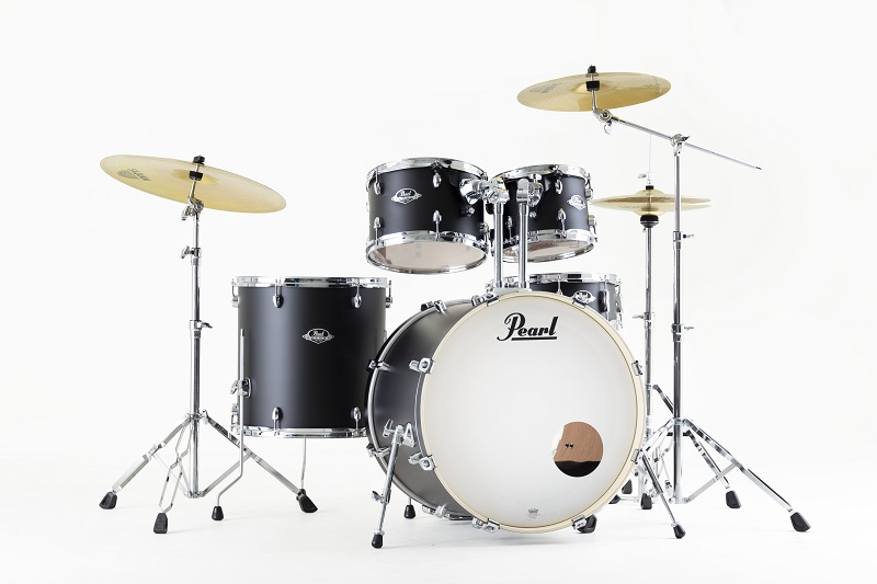 Pearl Export Stage Satin Shadow Black