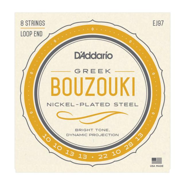 D´Addario EJ97 10-28 Nickel - für Bouzouki Greek
