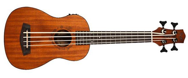 Flight DUBS Electro-Acoustic Bass Ukulele