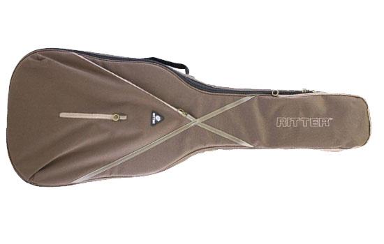 Ritter RGS7 BDT - Braune Tasche für Western Gitarre