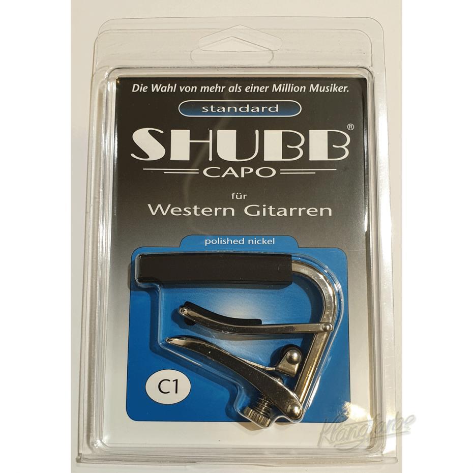Shubb C1-Westerngitarre Nickel