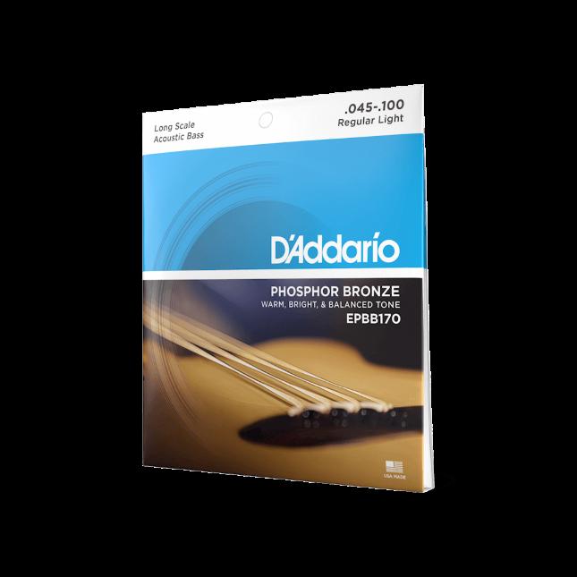 d`Addario EPBB170 45-100 Phosphor Bronze - für Akustikbass