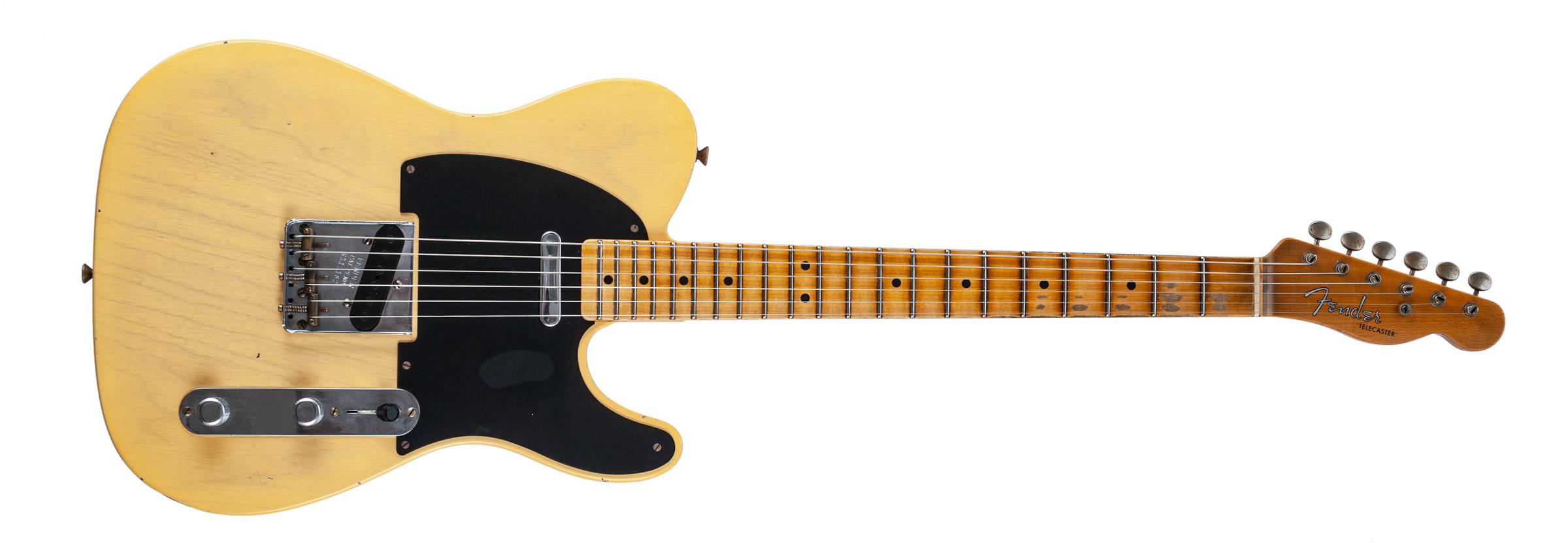 Fender Limited Edition '51 Telecaster Journeyman Relic, Maple Fingerboard, Aged Nocaster Blonde