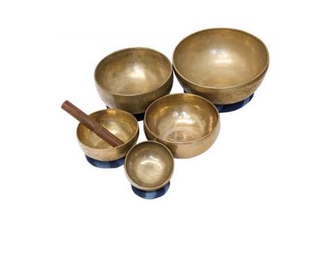 Terre Klangschale 500g Messing-Bronze Nepal/I