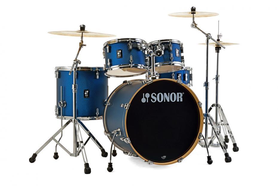 Sonor AQ1 Set Studio Dark Blue Sparkle