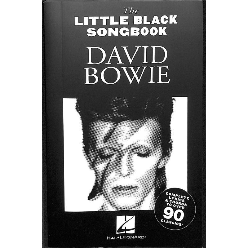 Little Black Songbook David Bowie