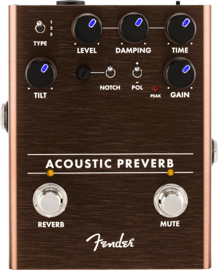 Fender Pedal Acoustic Preamp/Reverb