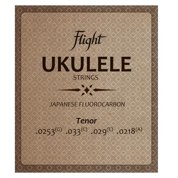 Flight FUST100 Fluorocarbon Ukulele Saiten – Tenor