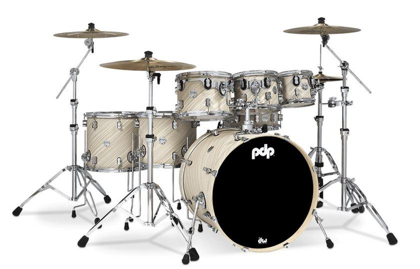 PDP CM7 Concept Maple Shellset in Twisted Ivory