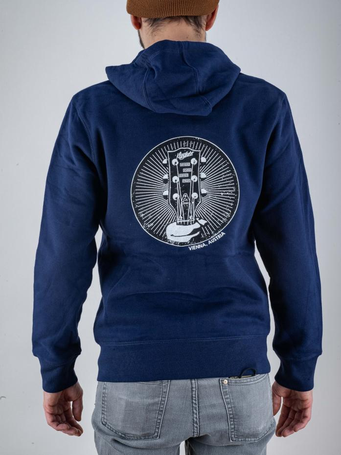 Klangfarbe Zip-Hoodie Navy Blue M