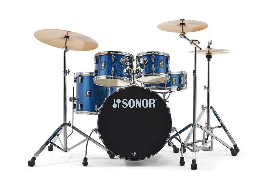 Sonor AQX Set Studio Komplettset Blue Ocean Sparkle