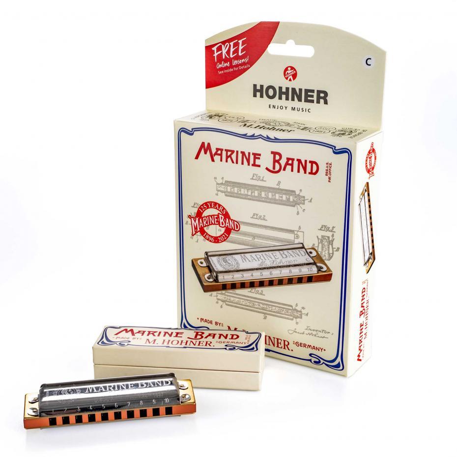 Hohner Marine Band 125 Anniversary C-Dur