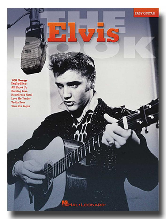 Elvis - The Elvis Book - Easy Guitar