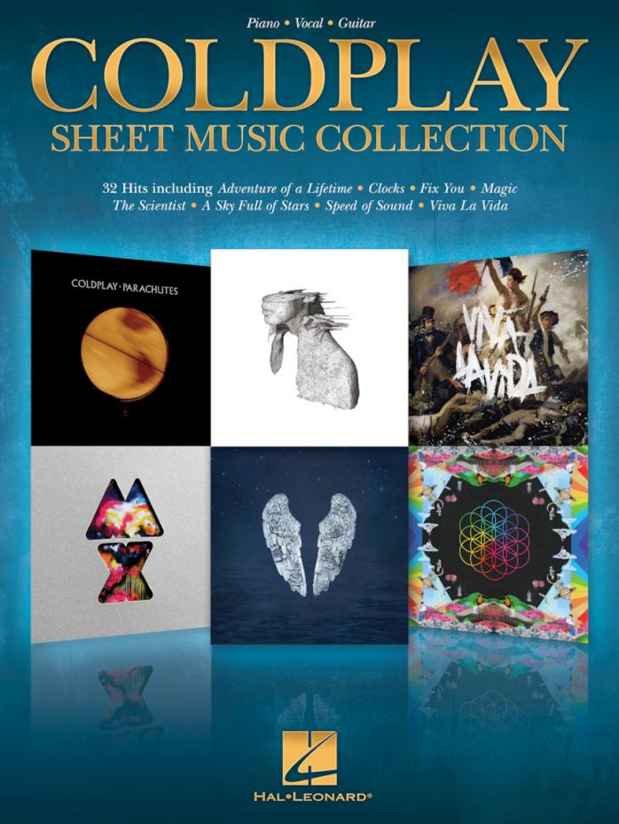 Coldplay - SHEET MUSIC COLLECTION