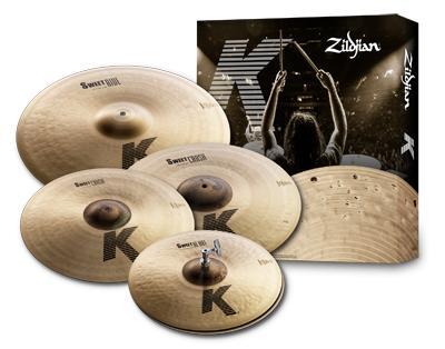 Zildjian K-Sweet Set 15/17/18/21