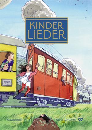 Buch Kinderlieder - Klavierband