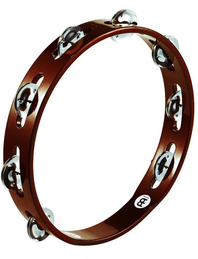 Meinl Tambourine Hand wood TA1AB Stahl