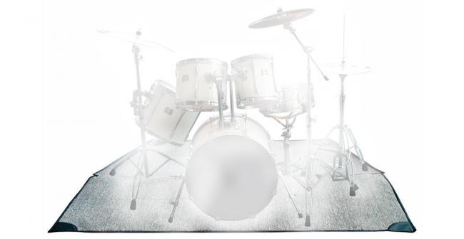 Rockbag RB22200B Drumteppich 160x200cm