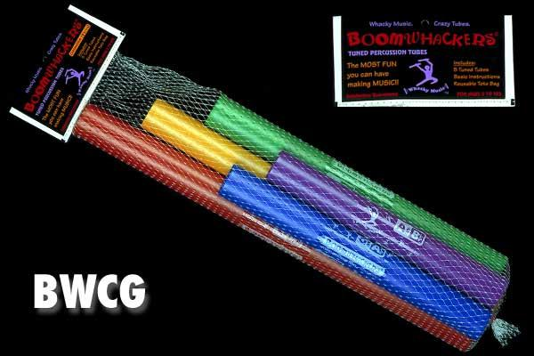 Boomwhackers BW-CG chromatische Ergänzung