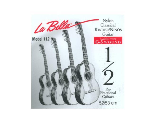 La Bella  FG 112 Saitenset für Kindergitarren