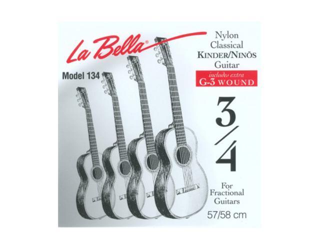 La Bella FG 134 Set für 3/4 Kindergitarre