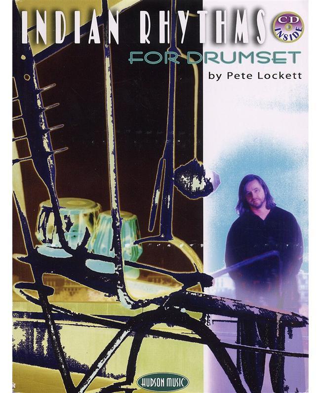 Pete Lockett Indian Rhythms For Drums, Buch