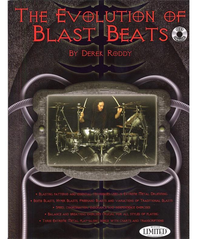 Derek Roddy Evolution Of Blast Beats, Buch