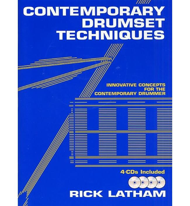 Rick Latham Contemporary Drumset Techniques, Buch