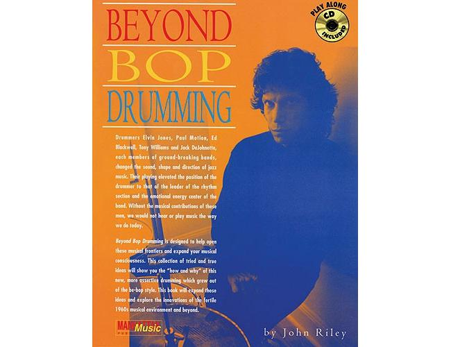 John Riley Beyond Bop Drumming, Buch