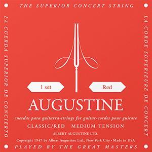 Augustin Einzelsaite D-4 Red