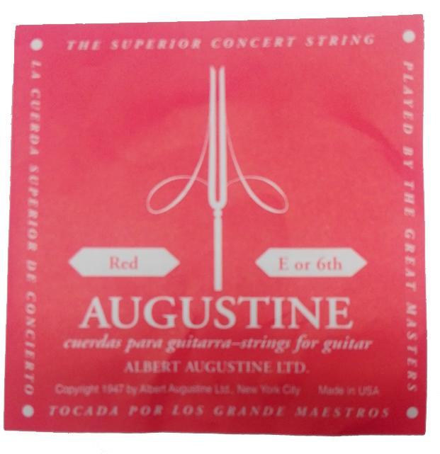 Augustine Einzelsaite E-6 Red