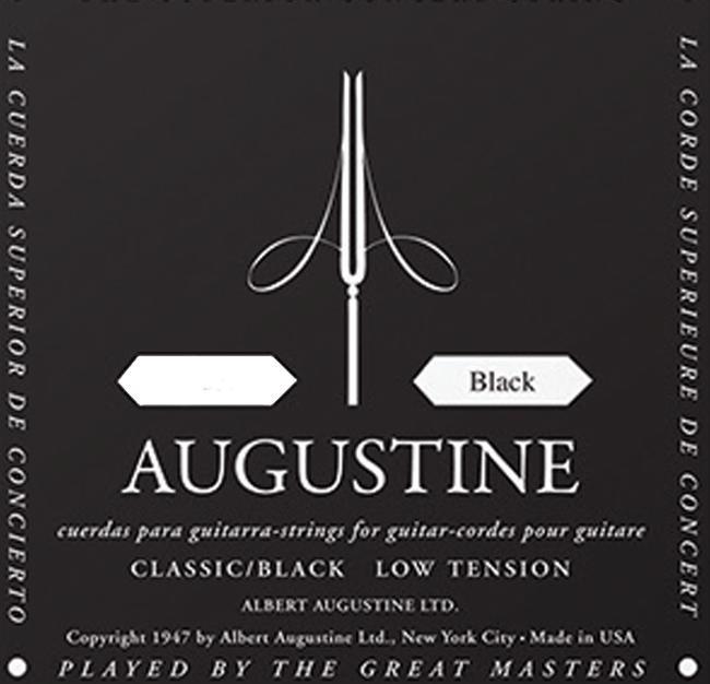 Augustin Einzelsaite D-4 Black