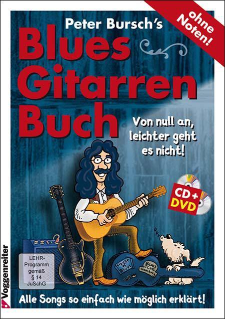 Peter Burschs Bluesgitarren-Buch