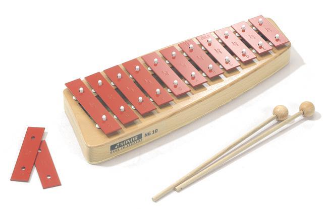 Sonor Glockenspiel NG10 Sopran c3-f4