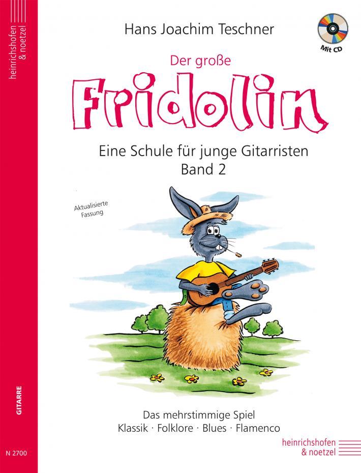 Fridolin: Der große Fridolin Band 2, inkl. CD