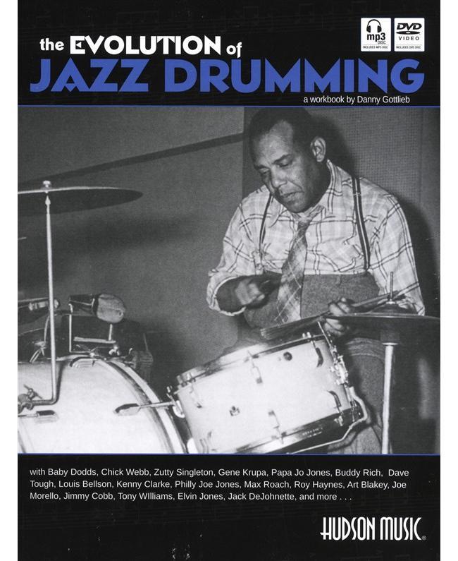 Danny Gottlieb The Evolution of Jazz Drumming, Buch
