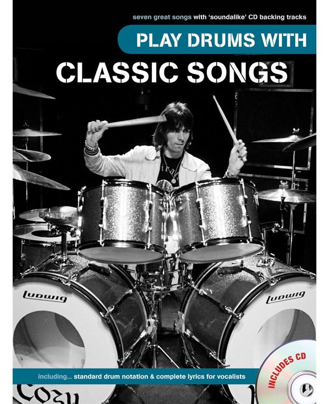 Play Drums Classic Songs, Buch