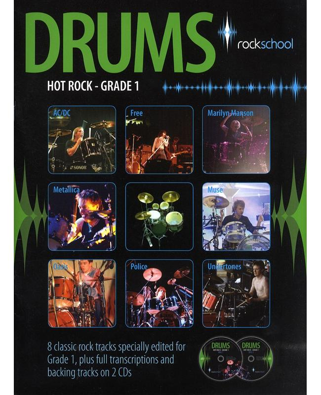 Rockschool Drums Hot Rock Grade 1, Buch