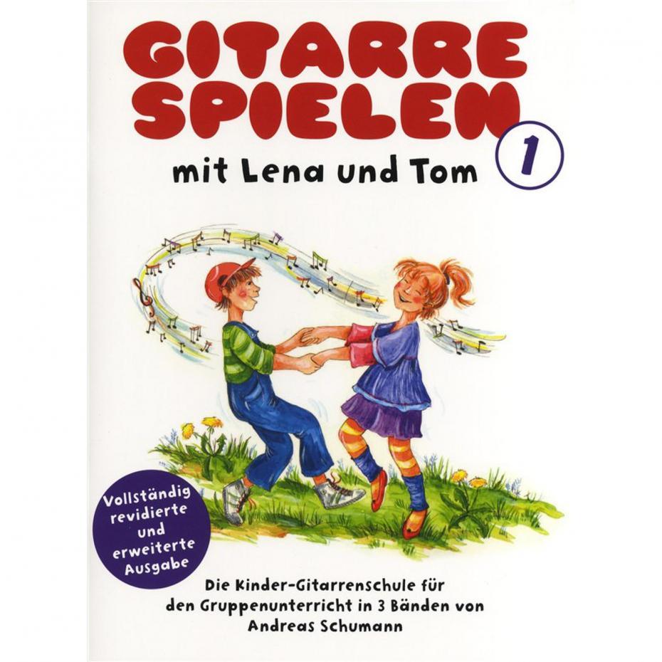 Gitarre spielen mit Lena und Tom 1