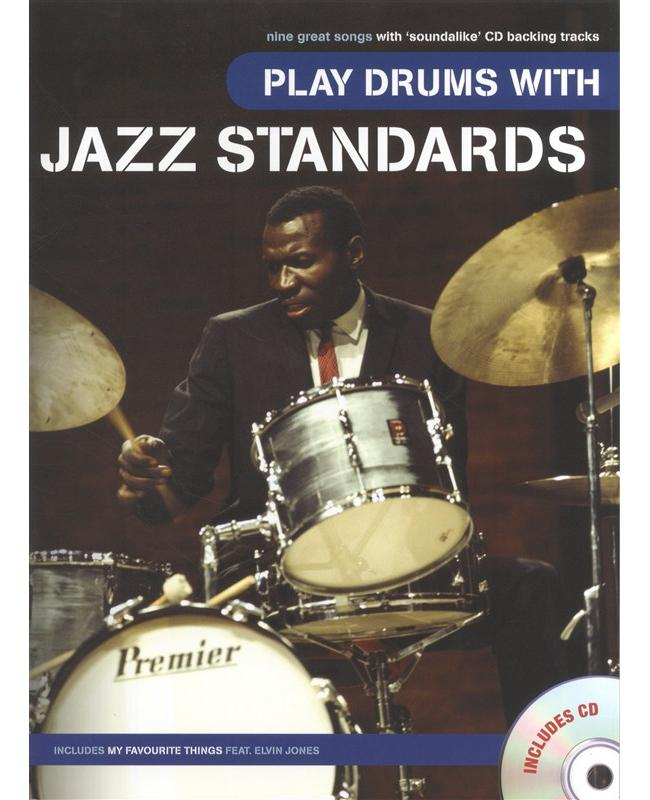 Play Drums with Jazz Standards, Buch